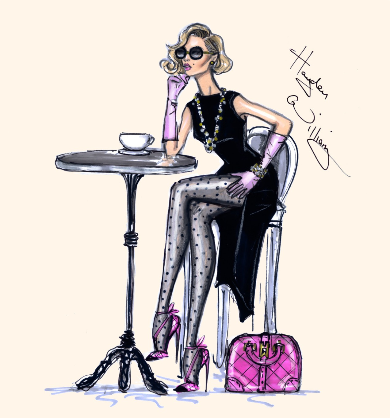 Hayden Williams Vogue Cafe Coffee Girl