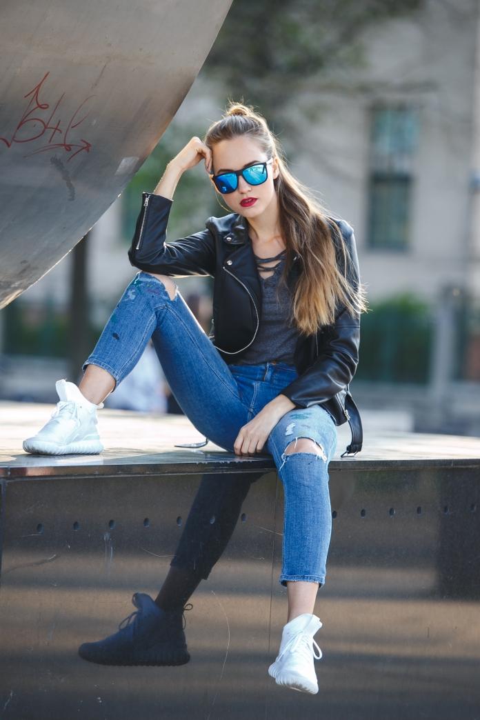 ESTIE x FLORIAN KOVAC Streetstyle fashion model